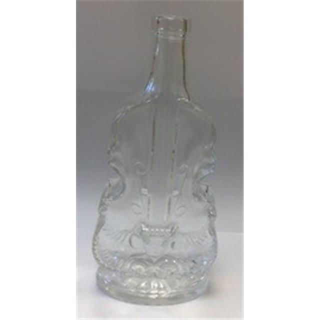 0710d7addaf Glass bottle Violin